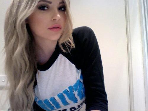 Black and blonde hair tumblr